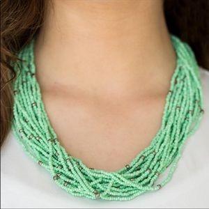 Jewelry - Summer Samba - Green | Necklace